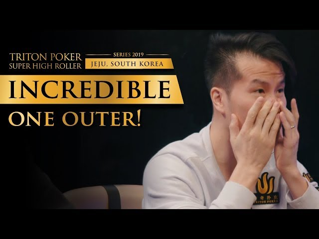 Insane One Outer Bad Beat | Triton Poker 2019