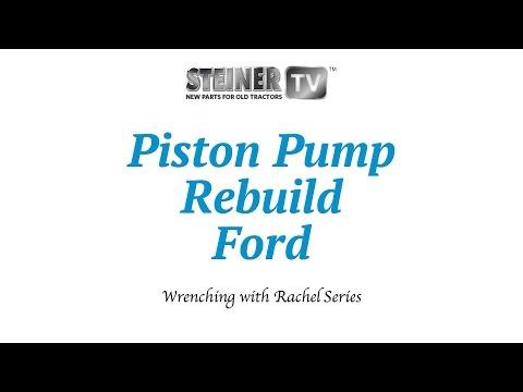 Piston Pump Rebuild