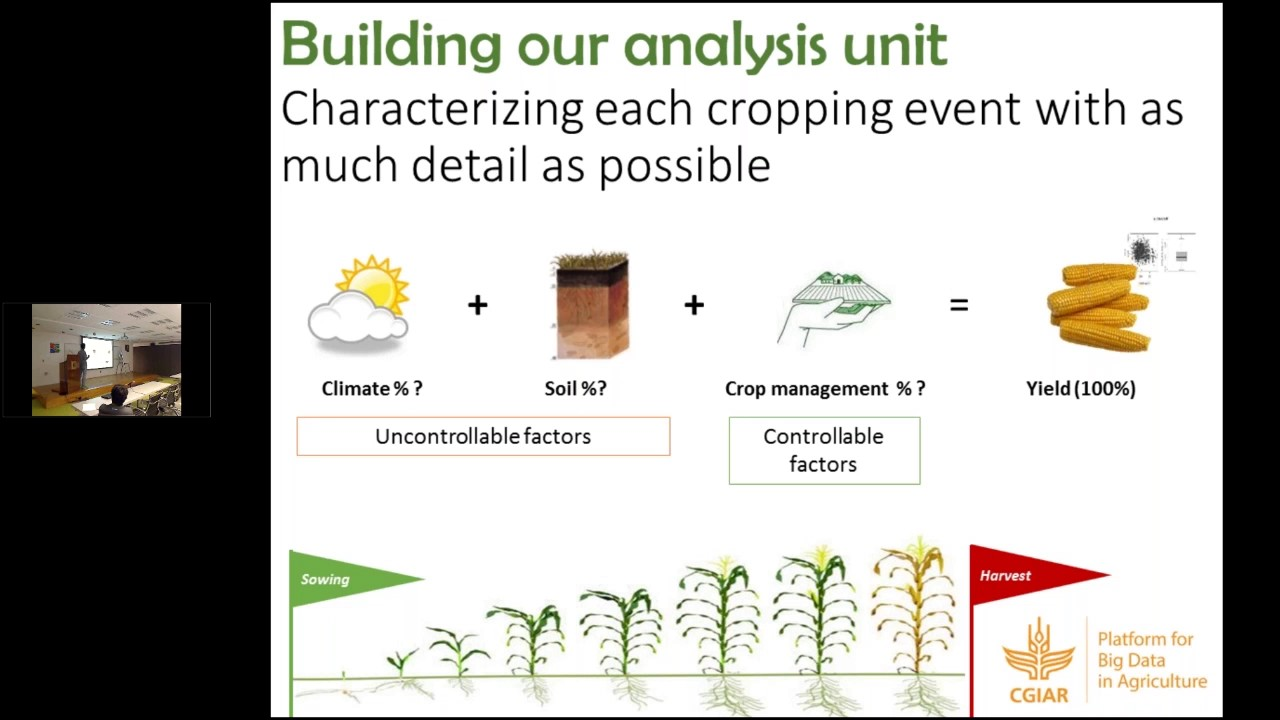 From farm data to optimal crop management: some opportunities of data mining