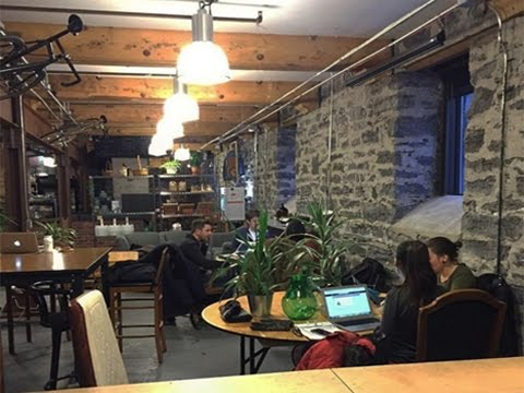 Zero waste coffee shop