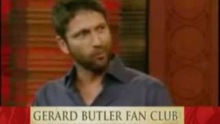 Gerard Butler interview on Cheating & Jennifer Aniston regis and kelly 2010