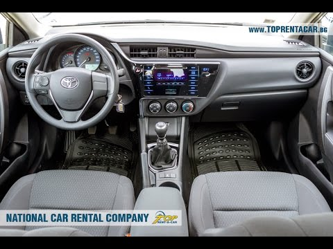 Toyota Corolla 2017 Automatic From Top A Car Bulgaria