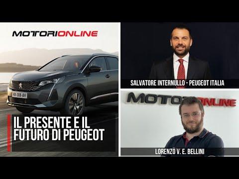 PEUGEOT verso il Futuro   Intervista Esclusiva con Salvatore Internullo