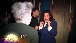 Andy and Amy's Haunted Ship Adventure on Ellen show
