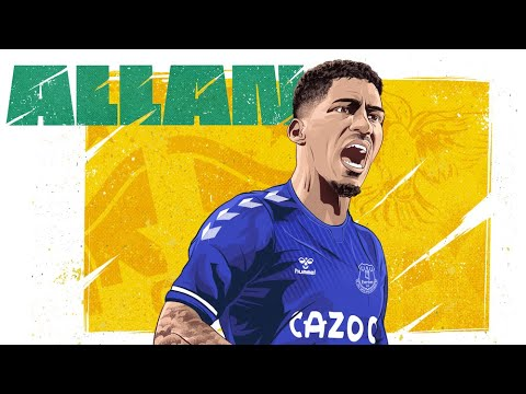 ALLAN SIGNS FOR EVERTON! | FIRST INTERVIEW WITH BRAZIL MIDFIELDER FOLLOWING MOVE FROM NAPOLI