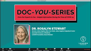 Episode 2: Doc-YOU-Series with Dr. Rosalyn Stewart