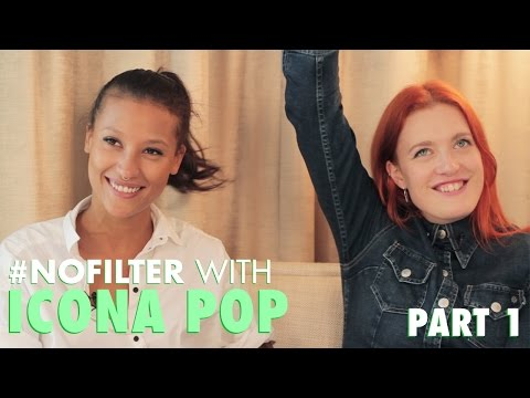 Icona Pop Prank Call A Fan (Part 1 of 2)