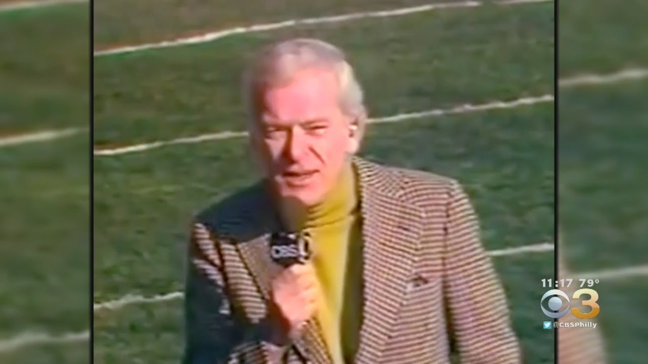Sportscaster Jack Whitaker has died, and we won't see his like again. Here's what he meant