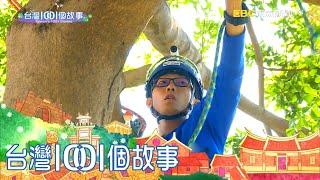 蜘蛛人攀樹師 拿命拚的高風險行業 part3 台灣1001個故事 白心儀