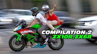 ZX10 ZX6R COMPILATION #02