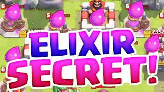 The 'Secret' Elixir Trick! Clash Royale Strategy