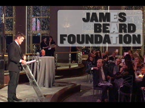 2016 James Beard Gala Speech