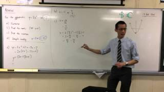 Finding Vertex & Graphing a Quadratic Function