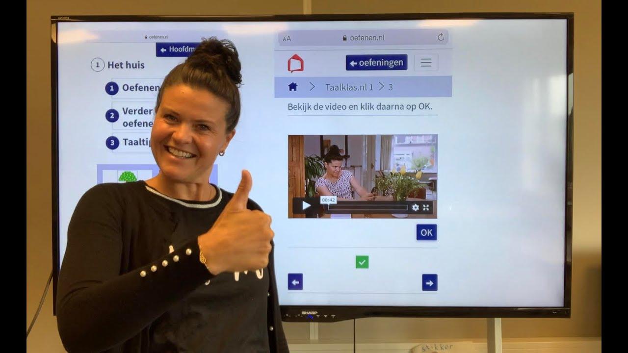 Download NT2 TIP Nederlands leren? Kijk op oefenen.nl😀 maak een gratis account, juf M helpt! #learndutch