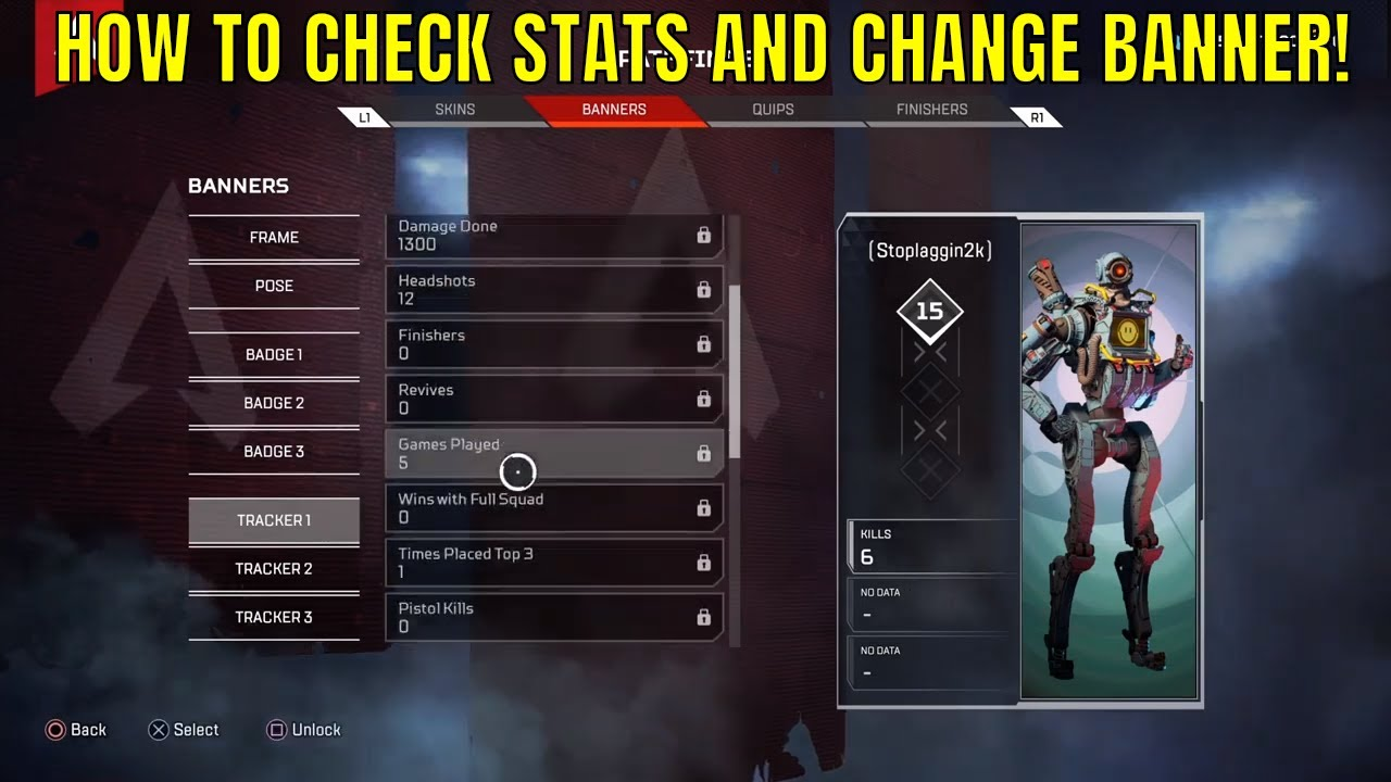 how to check stats