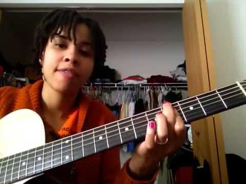 Beautiful Surprise-I India Arie (guitar tutorial) - YouTube