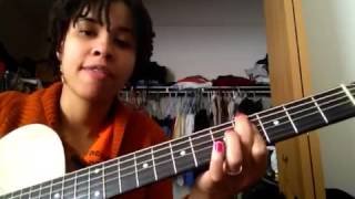 Beautiful Surprise-I India Arie (guitar tutorial)