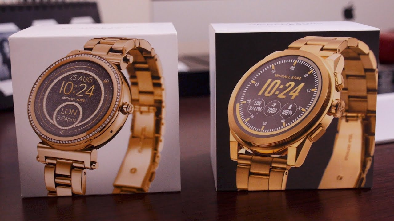 Michael Kors Sofie And Grayson Unboxing Youtube