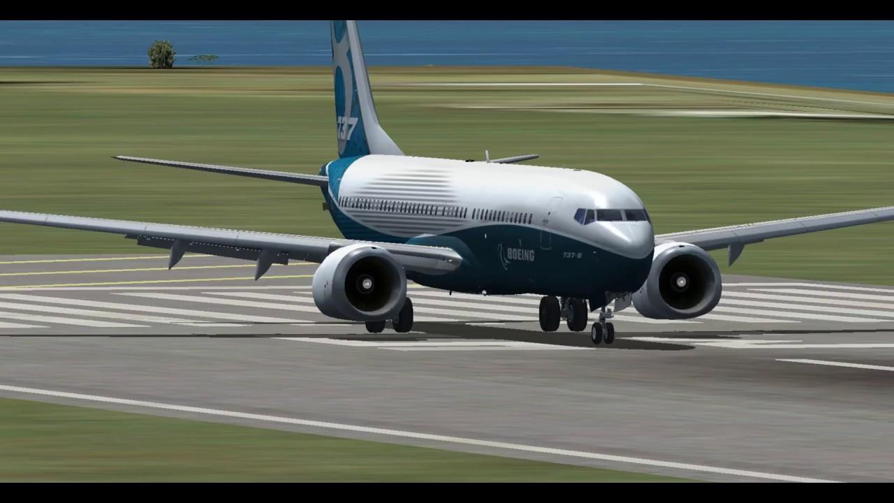 PMDG Boeing 737 MAX 8 Test Flight - Merged With TDS