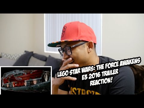LEGO Star Wars: The Force Awakens E3 2016 Trailer Reaction! @RealHKsmash