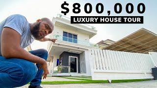 Whats Inside an $800K Lagos Mega Mansion?