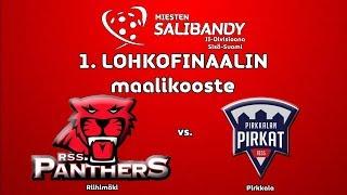 Maalikooste 1.  lohkofinaali RSS Panthers vs.  Pirkat 21.3 -19