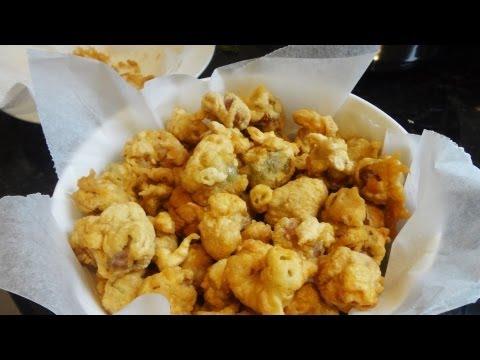 Popcorn chicken gizzards