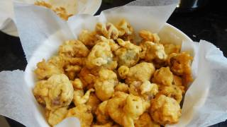 Popcorn chicken gizzards