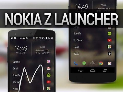 Nokia Z Launcher (Android), présentation - par Test-Mobile.fr