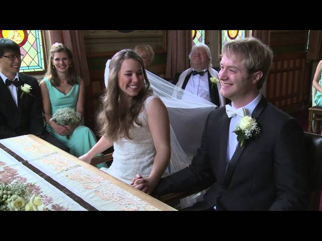 Part 9. Wedding movie from Maxime and Alexander Tekenen huwelijksregister gemeentehuis