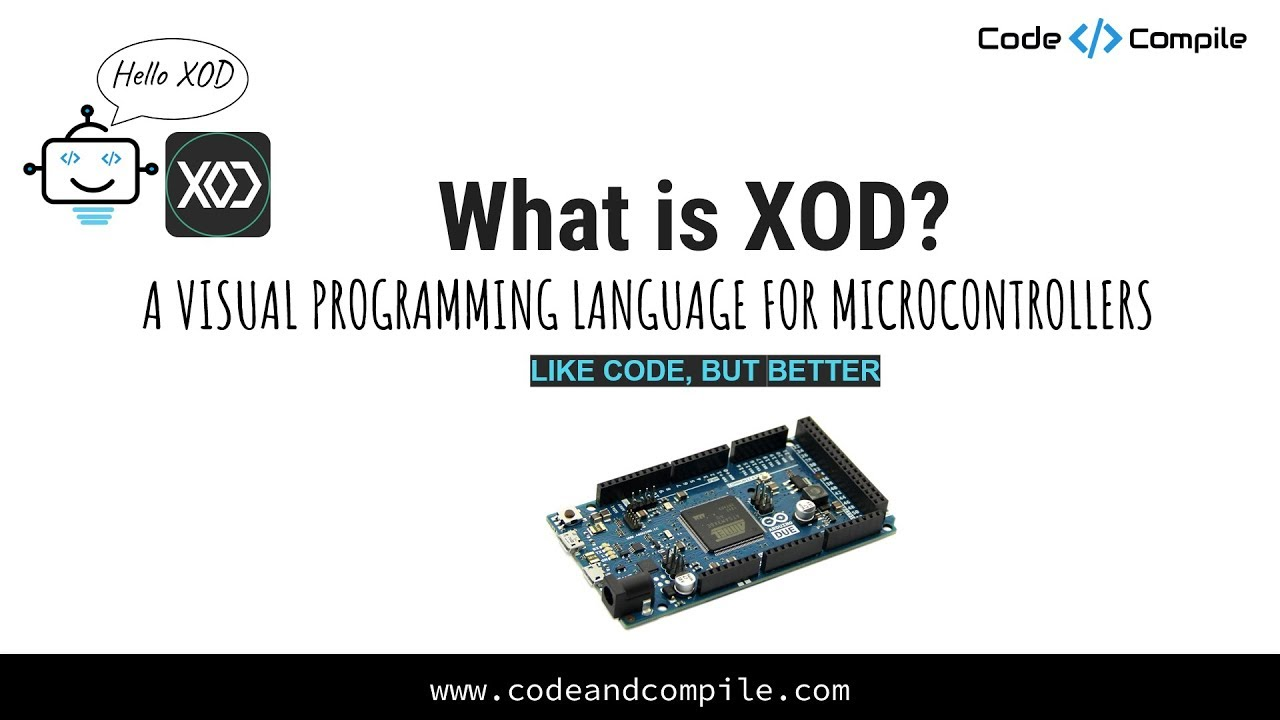 XOD – Arduino Programming platform – Code and Compile