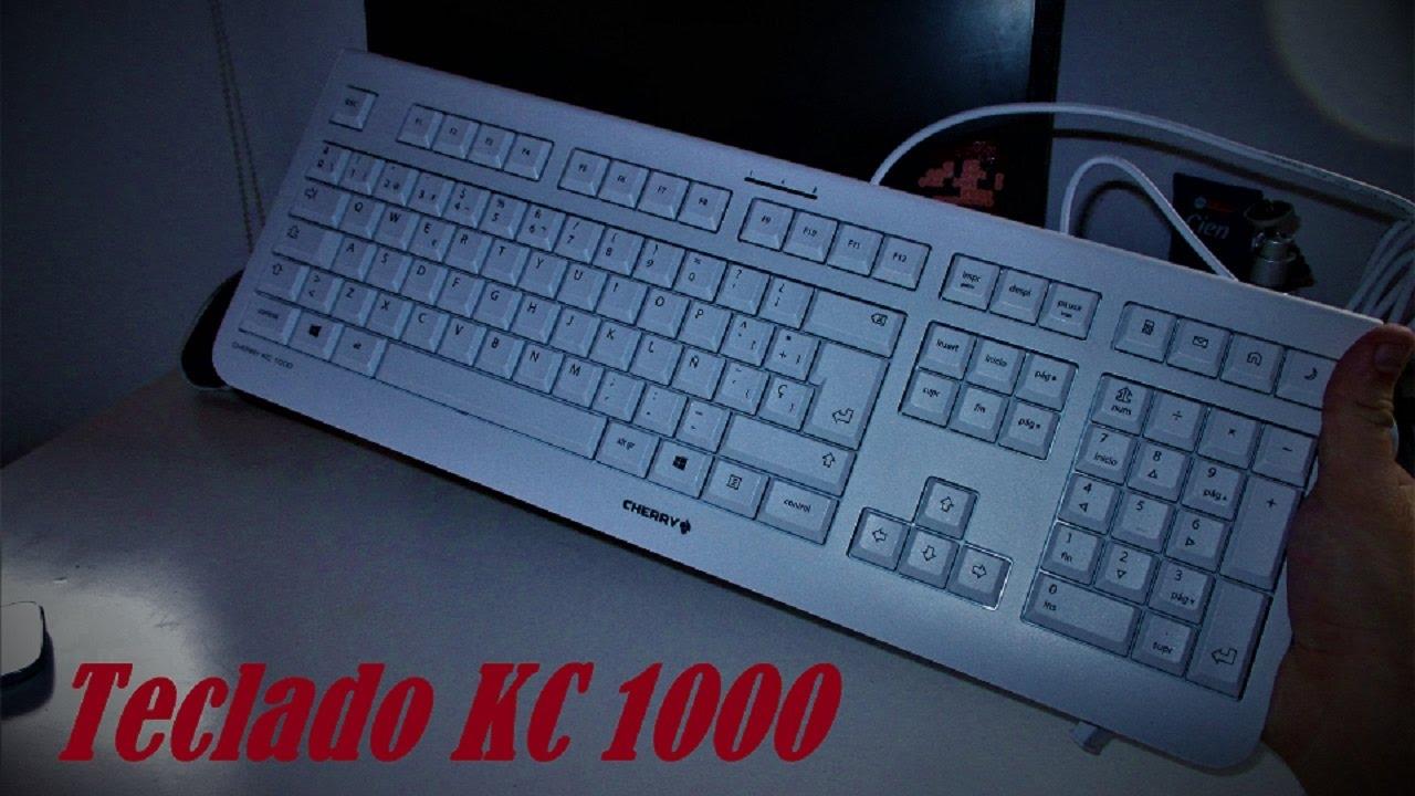 teclado Cherry KC 1000 (Unboxing y Primeras impresiones) - YouTube e303c598fe0b3