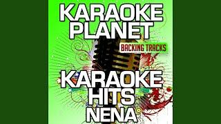 Manchmal ist ein Tag ein ganzes Leben (Karaoke Version) (Originally Performed By Nena)
