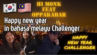Happy New Year Challenger (with Oppakabar)