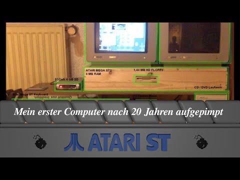 Atari Mega ST - Mein erster Computer nach 20 Jahren aufgepimpt (CD,HD,SD) 2 Screen