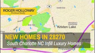 South Charlotte NC 28270 New Construction Homes for Sale
