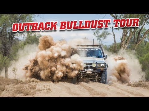 OUTBACK BULLDUST TOUR • Anyone could do this! • Two mates in utes