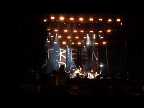 Green Day Revolution Radio Tour Live Albuquerque, NM