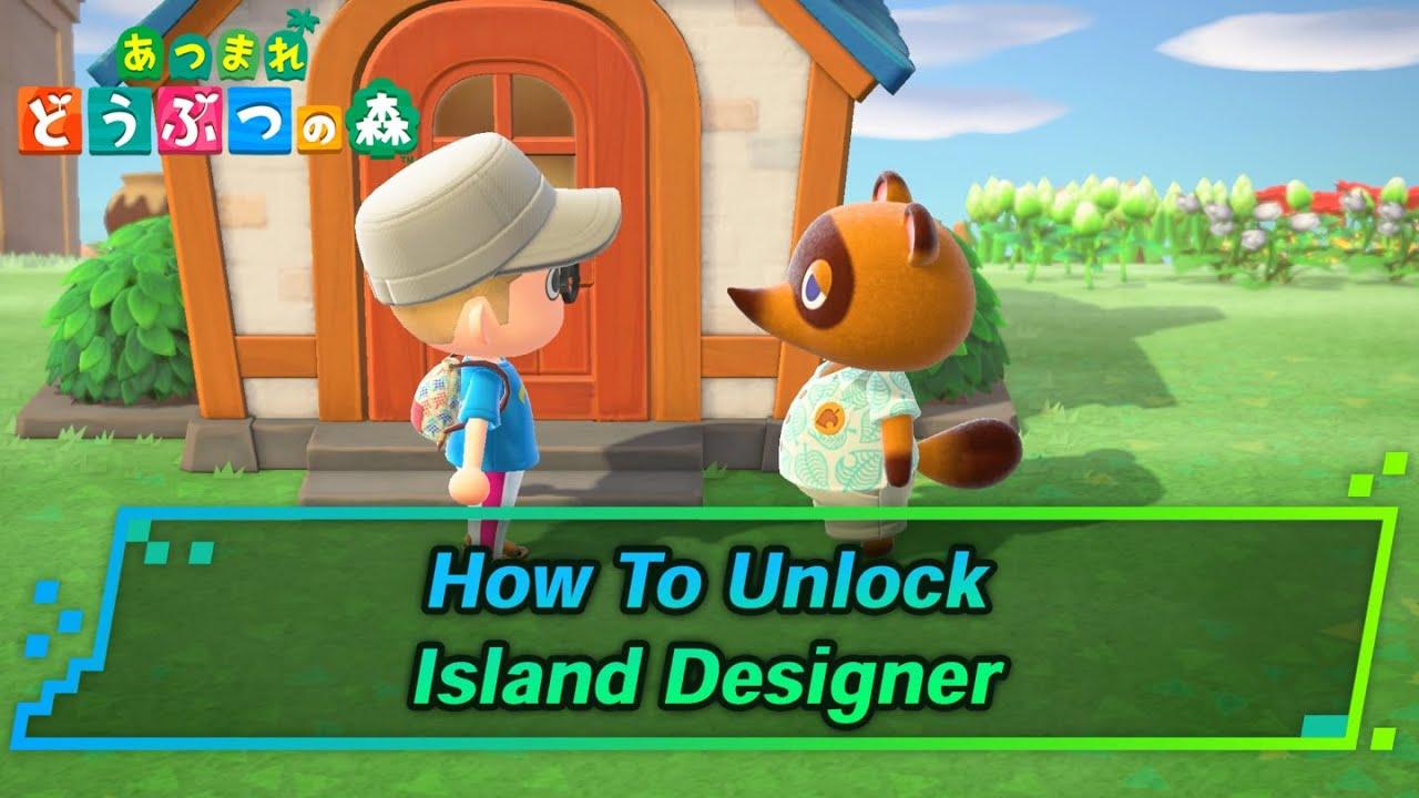 ACNH   Terraforming Island Designer   How To Unlock   Animal ...