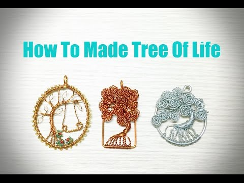 How To Make Tree Of Life With Copper Wire