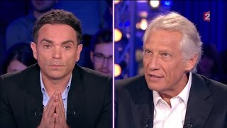 D.De Villepin à Y.Moix:
