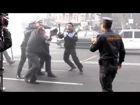 В Ереване задержаны десятки участников беспорядков