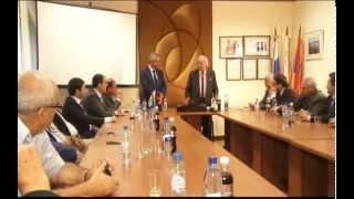 Встреча Рауля Хаджимба с руководством Союза армян России полная версия