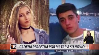 Histórica condena en Argentina: Cadena perpetua a joven de 19 años por matar a su novio
