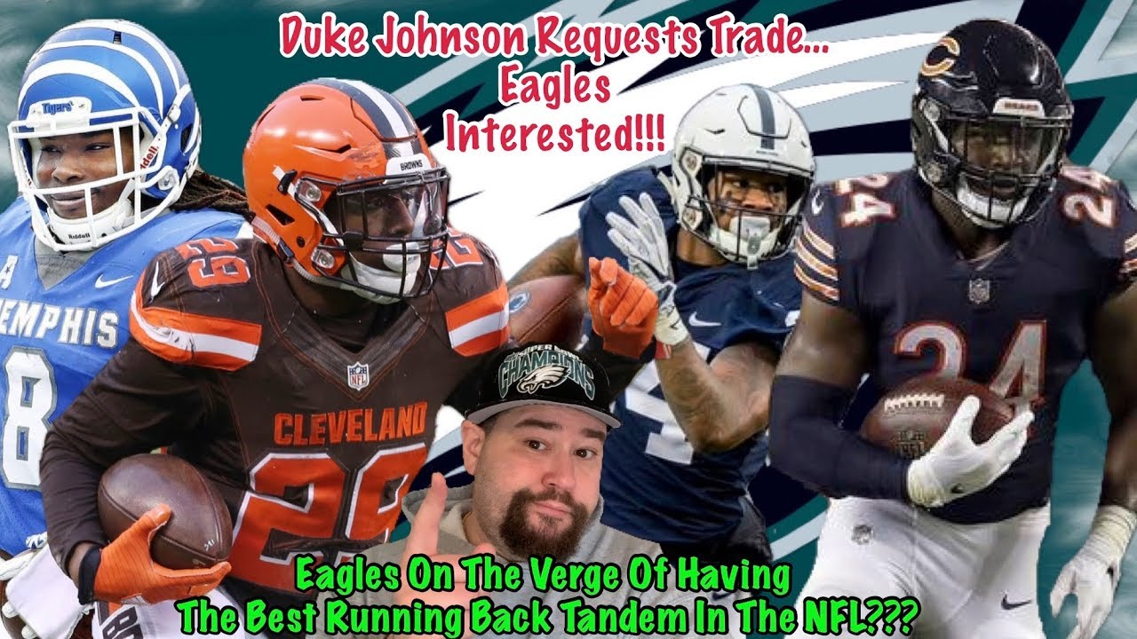 2b9947f483cd Eagles Interested In Duke Johnson After He Requests Trade!!! Eagles Should  Jump On This Right Away!!