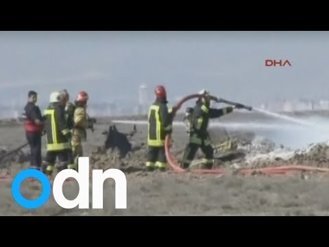 Turkish military training jet crashes, two pilots killed