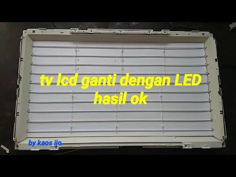 Cara mengganti lcd ke led hasil ok thumbnail