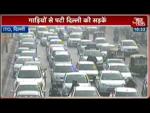 The Aftermath Of Odd-Even Plan: Delhi Traffic Back To Square One