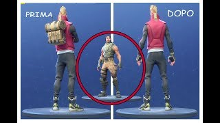 FORTNITE - HOW to TAKE THE ZAINO AND METTERE THE SKIN BASE (SEASON 5)