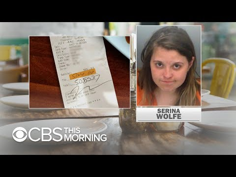 Delana's Dish - What the Florida!  Woman leaves a 5K revenge tip